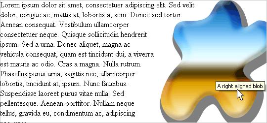 Illustration som visar hur en figursättning med A List Aparts metod ser ut.
